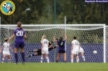Washington's first goal heads for the net. (Stephanie Brownfield)
