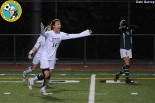 14# Rachel Shim of Skyline celebrates the match-winner.   #1 Lexi Klinkenberger of Kentridge shows her disappointment. (Dale Garvey)