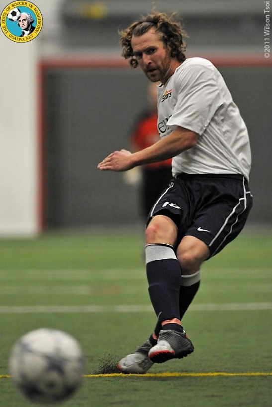Former Premiership player, Tacoma Star Adam Nowland was named the PASL Player of the Week on Tuesday. (Wilson Tsoi)