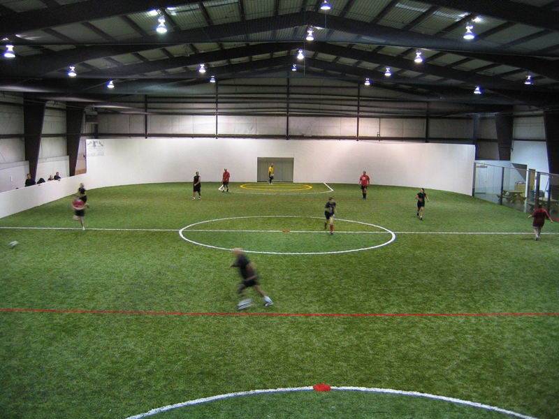 Arlington Puts Soccer First In Indoor Sports Facility