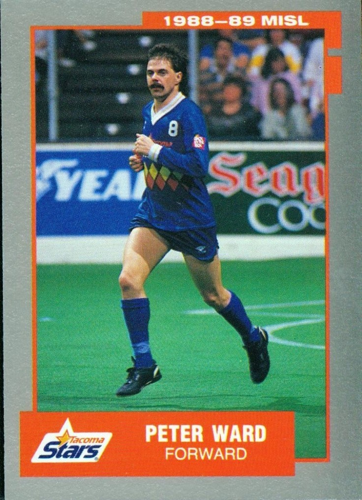 1987-88 trading card.