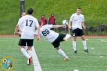 #69 Nick James winds up for a shot in the first half. His 28th-minute goal was a winner for Washington Crossfire. (Dale Garvey)