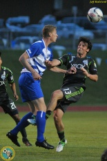 Two wins over the Sounders U-23's have Kitsap on the verge of clinching the Puget Sound Derby for 2012. (Jeff Halstead)
