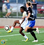 Kennya Cordner, left, leads ISC in goals scored. (Dale Garvey)