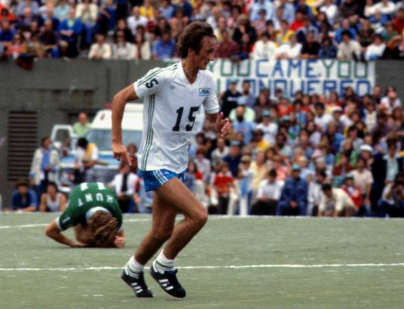 Steve Buttle, Soccer Bowl '77. (Scott Butner)