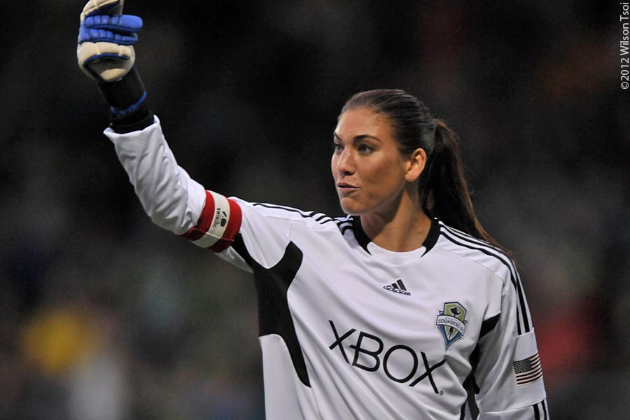 Video Buzz: Hope Solo, Sounders Women at Olympics (updated)