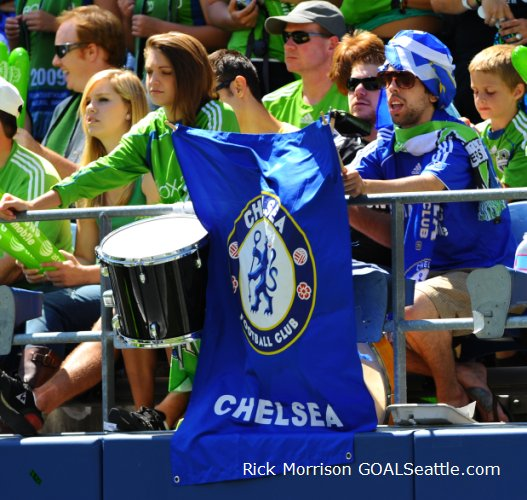Sounders break from league play to host Champions League winners Chelsea