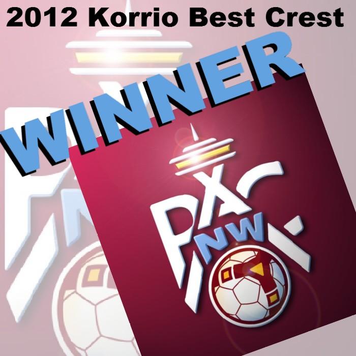 2012 Korrio Best Crest winners: Pacific Northwest SoccerClub
