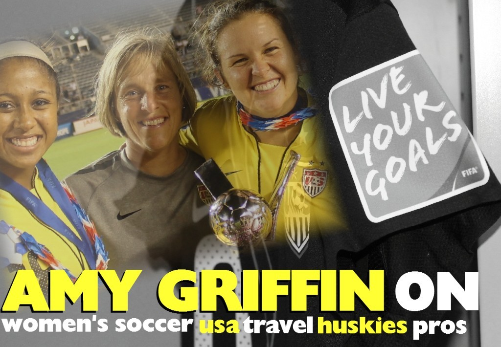 Amy Griffin: Soccer Girls rule the world
