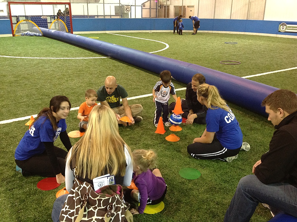 Lil' Kickers debuts at Tacoma Soccer Center / South Sound