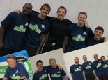 Last year's legends pose at the Tacoma Soccer Center.