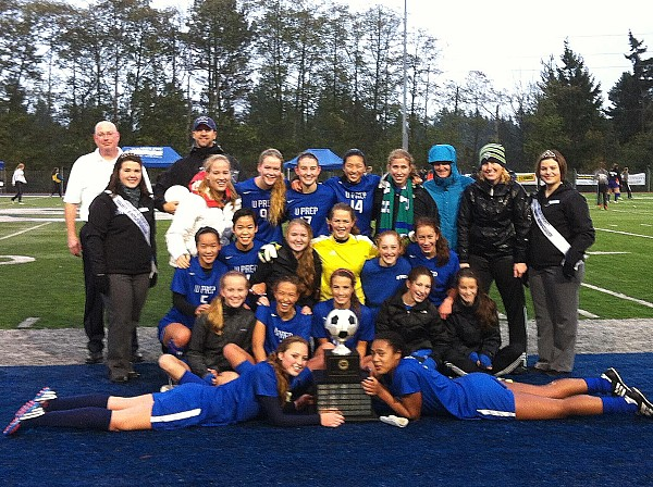 Washington crowns 2012 Fall Soccer High School Champions (full match videos)