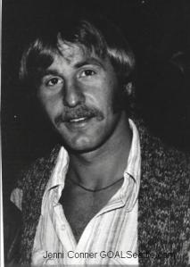 Adrian Webster at a Sounders fan event, 1976. (Jenni Conner)