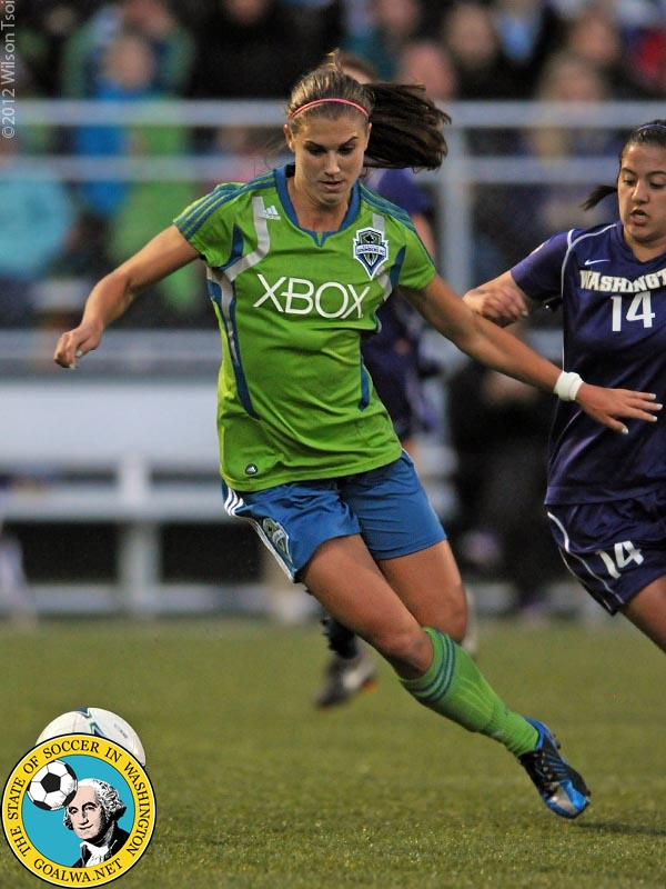 Seattleseattle 25 30: Picture Perfect: Alex Morgan With The Sounders Women