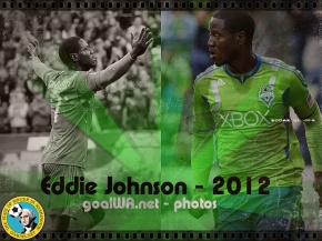 Picture Perfect: Eddie Johnson with Seattle Sounders FC
