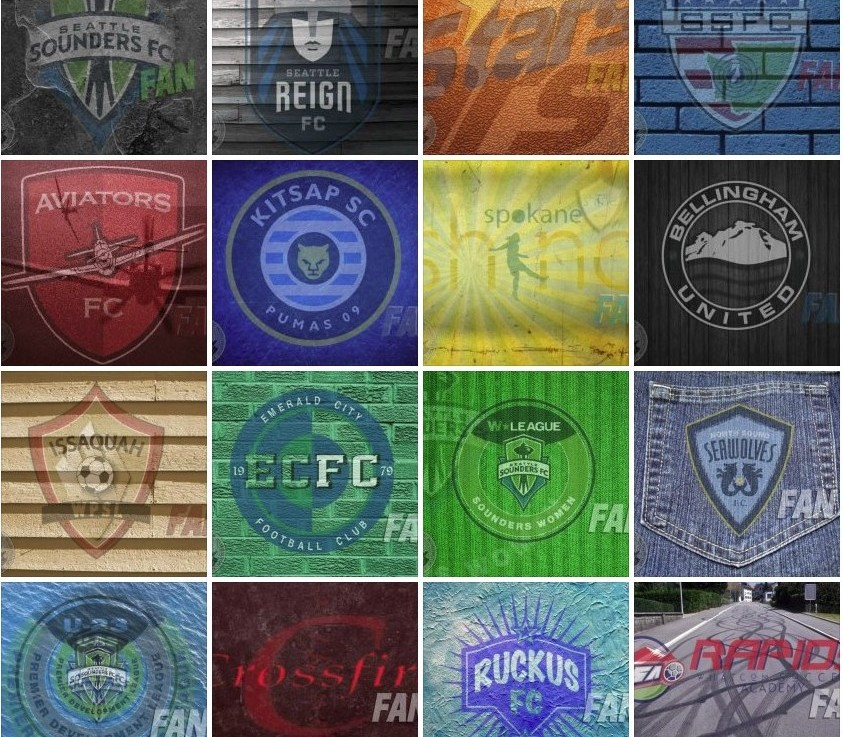 Facebook Feature: Washington soccer is a work of art