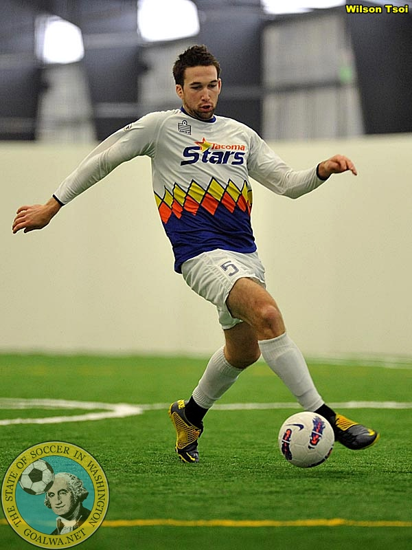 Eli Gordley scored an important fourth-quarter goal as the Tacoma Stars out-paced Anaheim Saturday night at the Pacific Sports Center.) (Wilson Tsoi file photo)