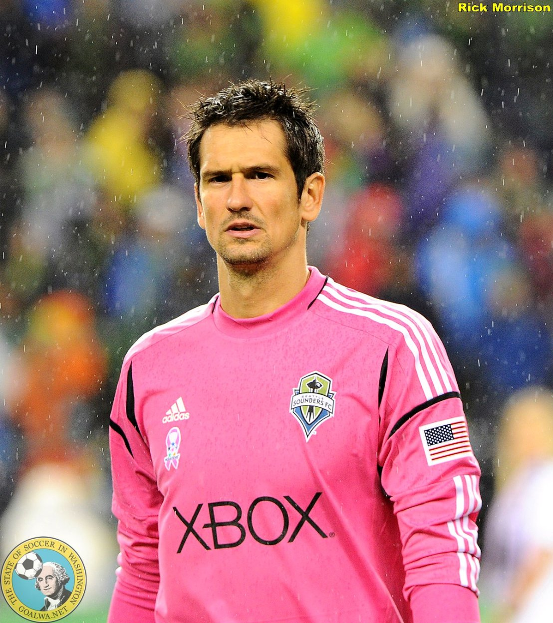 Sounders supporters pick goalkeeper Gspurning as 2012 player of year