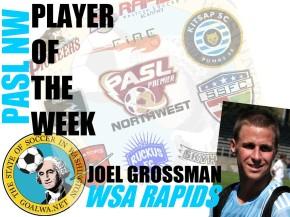 PASL NW Player of the Week: Joel Grossman, WSARapids