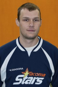 Lukas Rydberg in a 2010 photo while with the PASL Premier Tacoma Stars.