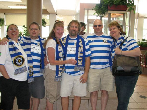 Kitsap Pumas fans in Abbotsford BC, 2010.