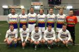 The traveling roster for the Tacoma Stars just before kick-off Friday night in Las Vegas. The Stars were blown out for the third straight match. (Legends photo)