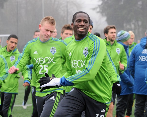 Picture Perfect: Rick Morrison shoots day one of 2013 Sounders training