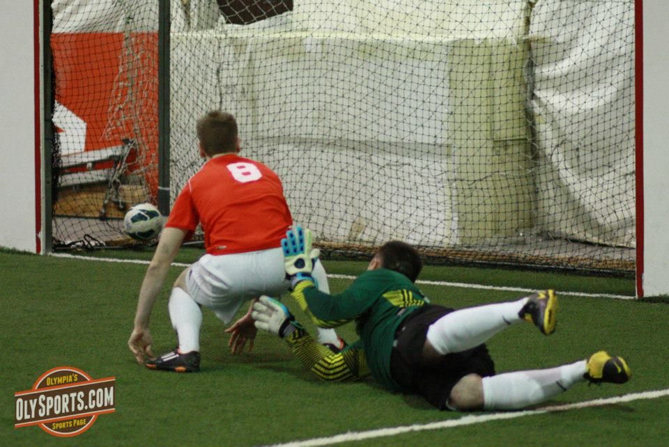 The Shock and Rapids went to a shootout to decide who would advance to the PASL NW Final. (Brandon Sparks, OlySports.com)
