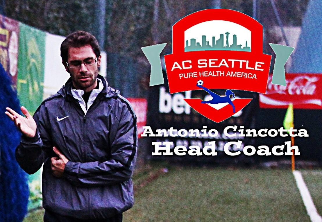 AC Seattle officially announces head coach, team manager
