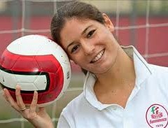 The first AC Seattle player is Serie A forward Alessandra Nencioni.