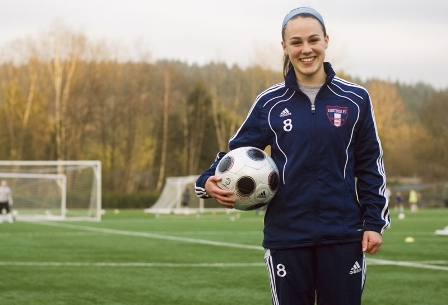 Audrey Thomas of Eastsife FC and Issaquah High School has been named the Gatorade Washington Player of the Year. (EFC)