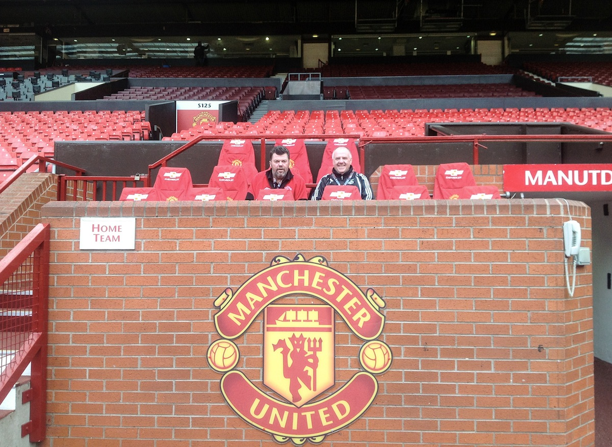 Whitman Head Coach Mike Washington Visits Manchester