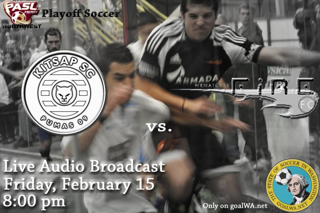 Landyn Rookard to call Pumas-Fire playoff match live TONIGHT ongoalWA.net
