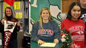 Seattle U announces three women signed for2013