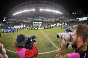 Picture Perfect: Wilson Tsoi on scene as Sounders kickoff