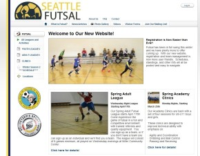 Seattle Futsal Spring Adult League starts April 17