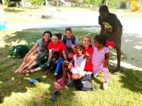 Seattle U Women's Soccer takes spring break service trip to Belize