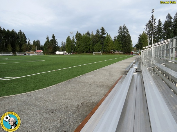Gordon Field, new home of the Kitsap Pumas. (David Falk)