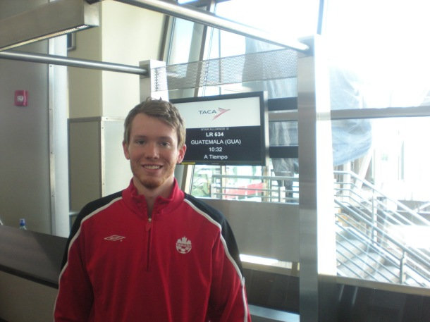 Robbie Tice on tour with the Canadian Futsal Team. (Tice's blog)
