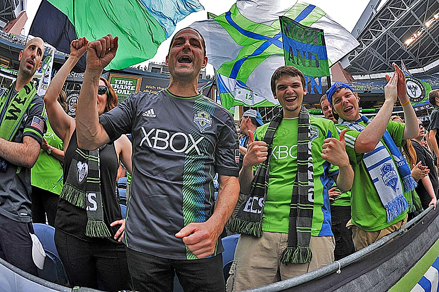 Picture Perfect: Over 300 photos of Sounders big win