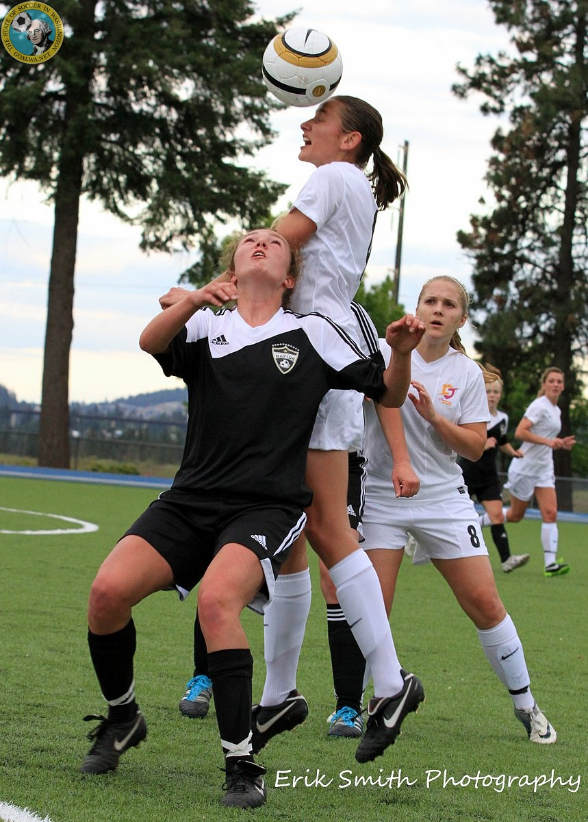 Picture Perfect Spokane Shine Play Friendly In Prep For