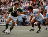 Photo here and top of article: Jocky Scott during Soccer Bowl '77. (Scott Butner)