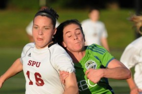 Sounders Women put three past Falcons in secondhalf