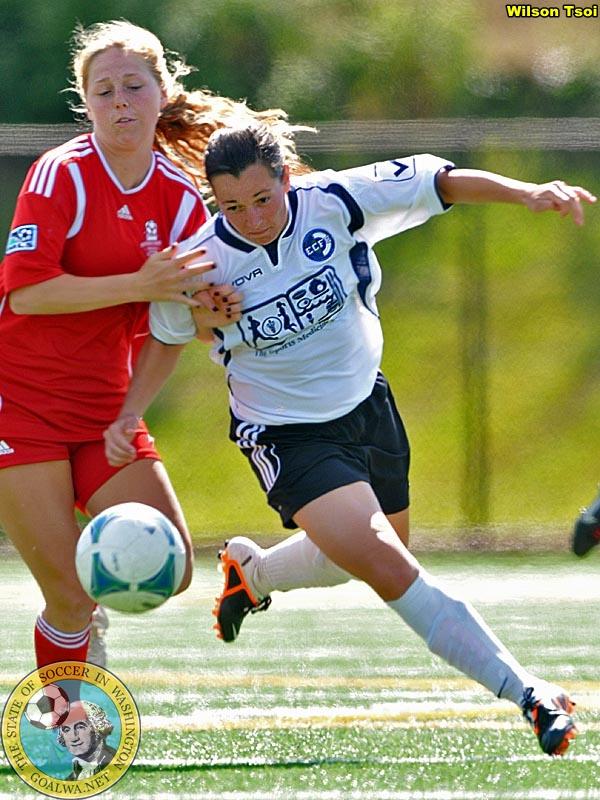 Emerald City's Marina Nesic is goalWA.net Washington WPSL Player ofWeek