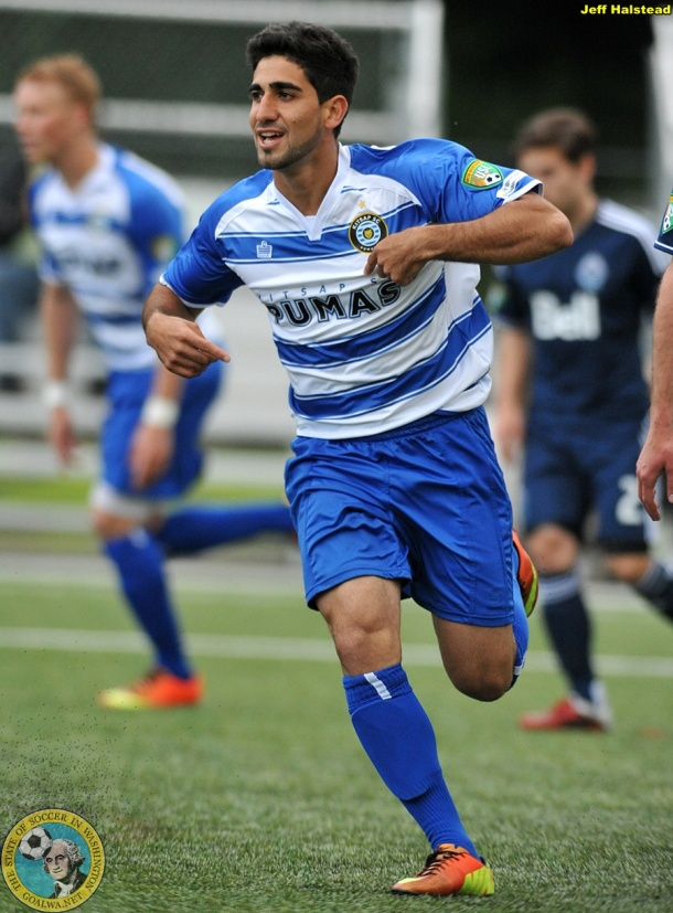 Kasy Kiarash, goalWA.net Washington PDL Player of the Week. (Jeff Halstead)