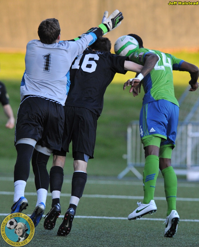 Sounder U23 vs Crossfire 726