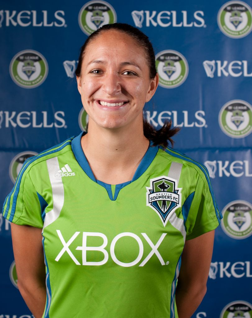 Stephanie Cox, while with the Sounders Women. (SW photo)