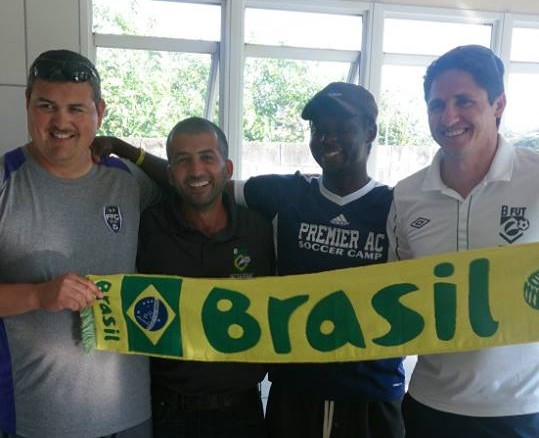 Fuerza FC's Tony Carrillo goes to Brazil to earn Level One BFUT license