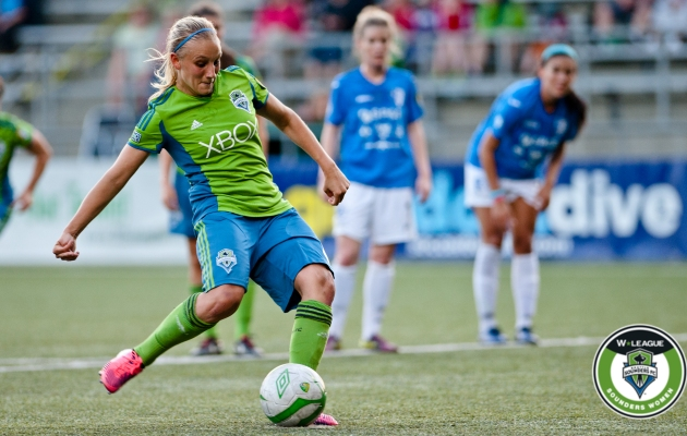 Sounders Women's Melissa Busque has landed on the W-League All-Star roster. (club photo)