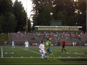 Sounders U-23 catch Washington Crossfire at threes in Ruffneck Cup battle